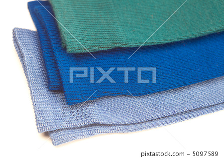 background of multi colored socks made of cotton 5097589