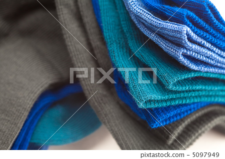 background of multi colored socks made of cotton 5097949