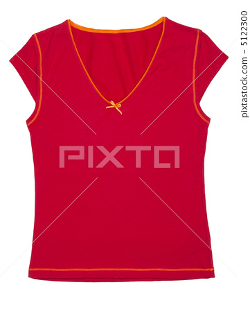 Women's T-shirt sporting the red 5122300