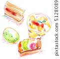 蛋糕和冰淇淋 5128089