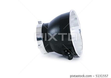 Studio strobe reflector isolated on the white 5131557