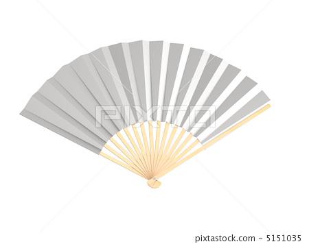 Fan silver color 5151035