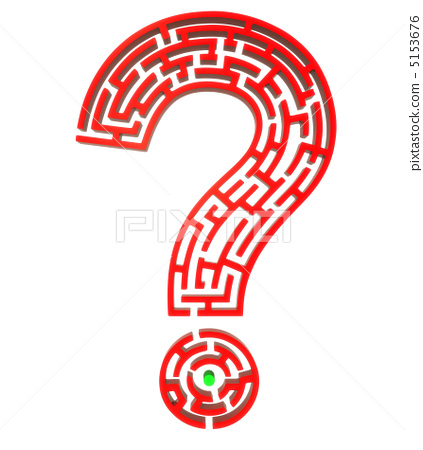 Red question puzzle 5153676