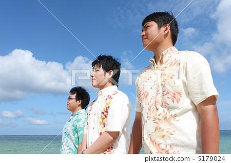 Businessman of Kariyushi wear 5179024
