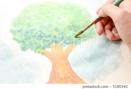 畫一棵樹的照片 5180342