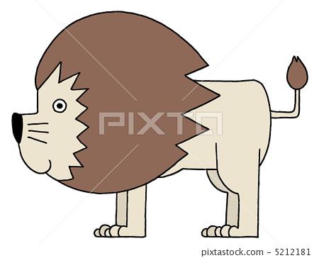 사자, 동물, 왕 5212181