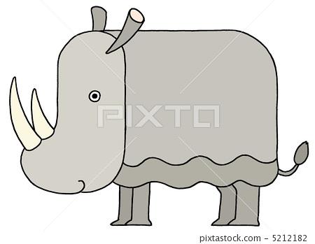 herbivore, herbivorous animal, rhinoceros 5212182
