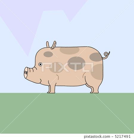 돼지 5217491
