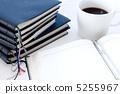 热咖啡 记事册 圆珠笔 5255967