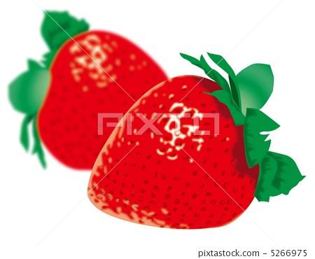 2 strawberries 5266975