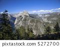 约塞米蒂国家公园冰川点半圆顶 5272700