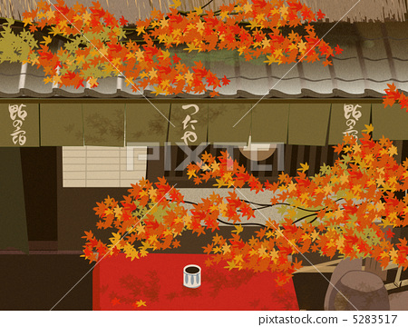 Kiyotaki Autumn leaves' tea house 5283517