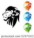 ライオンのマーク 5297002