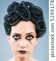 Woman depicting the concept og Evil (Medusa Gorgon) 5299178