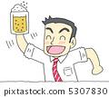 用啤酒敬酒 5307830