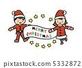 聖誕老公公 聖誕老人 小姑娘 5332872