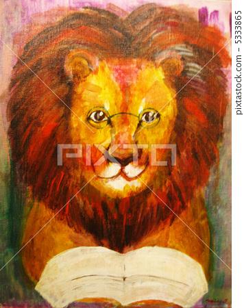 讀秋天的獅子 5333865