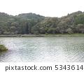池塘 鹹水湖 靜岡 5343614