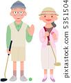 年長 異性夫婦 情侶 5351504