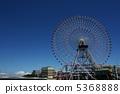 요코하마 미나토 미라이의 관람차 5368888