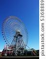 요코하마 미나토 미라이의 관람차 5368889
