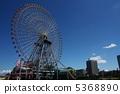 요코하마 미나토 미라이의 관람차 5368890