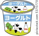 優格 優酪 酸奶 5370770