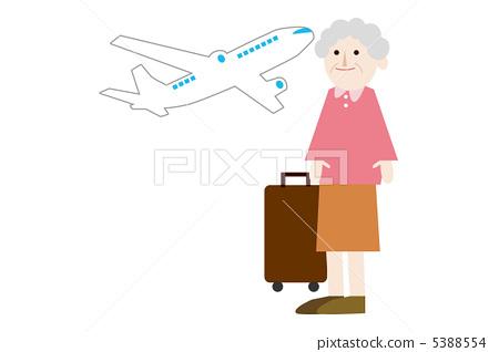 노인 여행 5388554