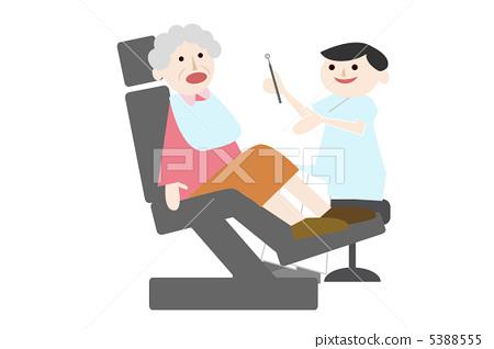 Elderly dentist 5388555