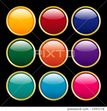 圓形按鈕 5395718