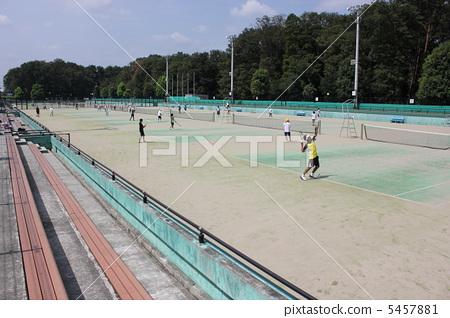 Tennis court 5457881