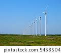 風車 風力渦輪機 濕地 5458504