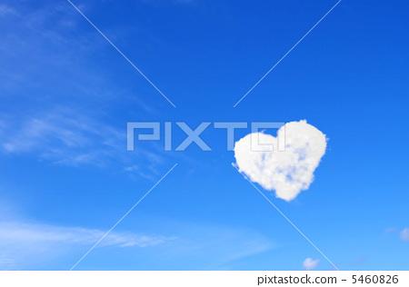 하트 구름 5460826
