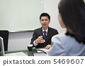 A businessman who talks with a smile 5469607