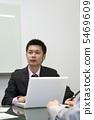 Businessmen listening to stories 5469609