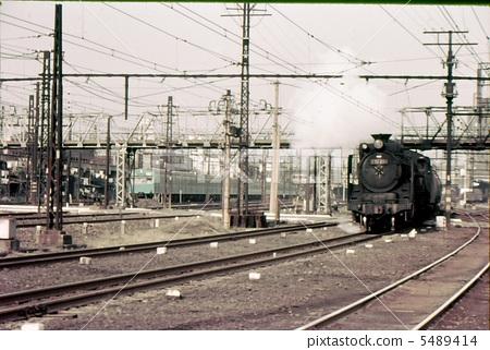 昭和42橫濱鶴見D51蒸汽機車 5489414