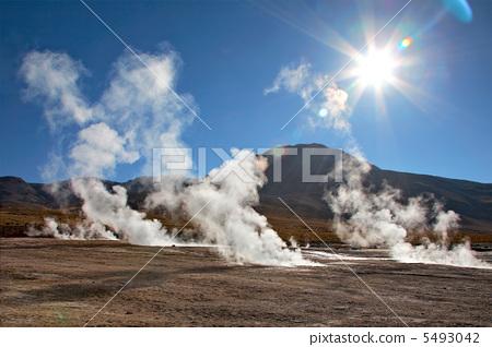 Geyser field El Tatio in Atacama region, Chile 5493042