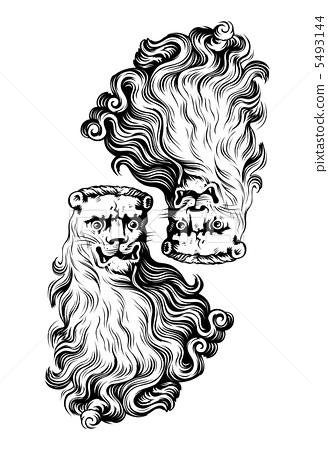 lion head icon 5493144