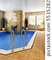 interior of the swimming pool 5515282