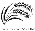 wheat, barley, vector 5523362