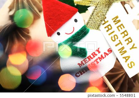 Santa Claus and Illuminations 5548801