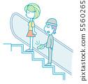 隱藏著自動扶梯 5560265