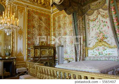 Palace Of Versailles Queen S Bedroom Marie Stock Photo 5565407 Pixta