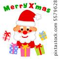 크리스마스, 이브, 산타 5579628