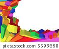 3D frame 5593698