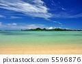 เกาะอิชิกากิภูมิทัศน์ด้านล่างของชายหาด 5596876