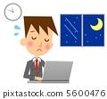 Businessman overtime 5600476