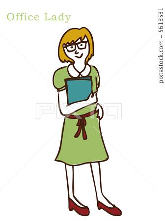 office lady 5613531