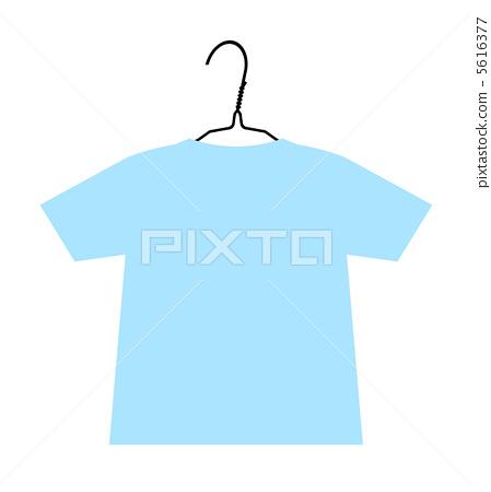 T-shirt hanging on a hanger 5616377