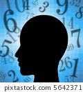 大腦 數學 腦 5642371
